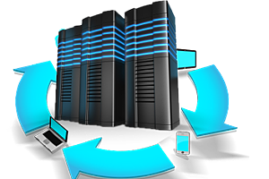 Data backup process as managed IT services