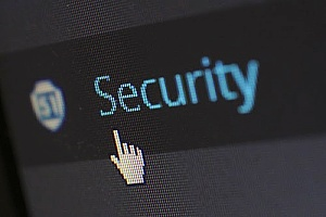 a hyperlink that leads to an article called 'What Is IT Security?'
