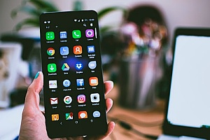 a smartphone that is equipped with end-point security