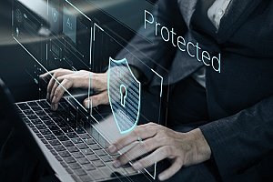 an outsourced IT support security professional working to determine potential risks