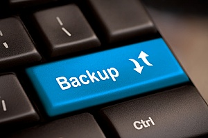 back up your business data