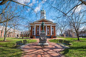 Courthouse in downtown Leesburg, Virginia