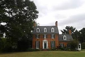 Historic spring garden in Annandale, VA