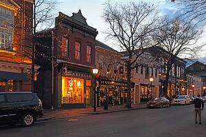 Streetview in Alexandria, Virginia