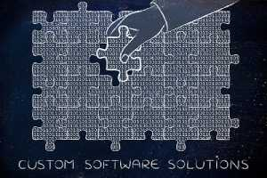 An illustration about custom software consulting solutions including fixing bugs