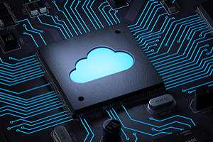 Cloud computing and network Remote data backup security concept