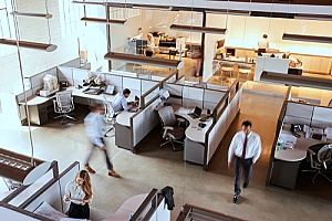 office workstations that have access to several business applications