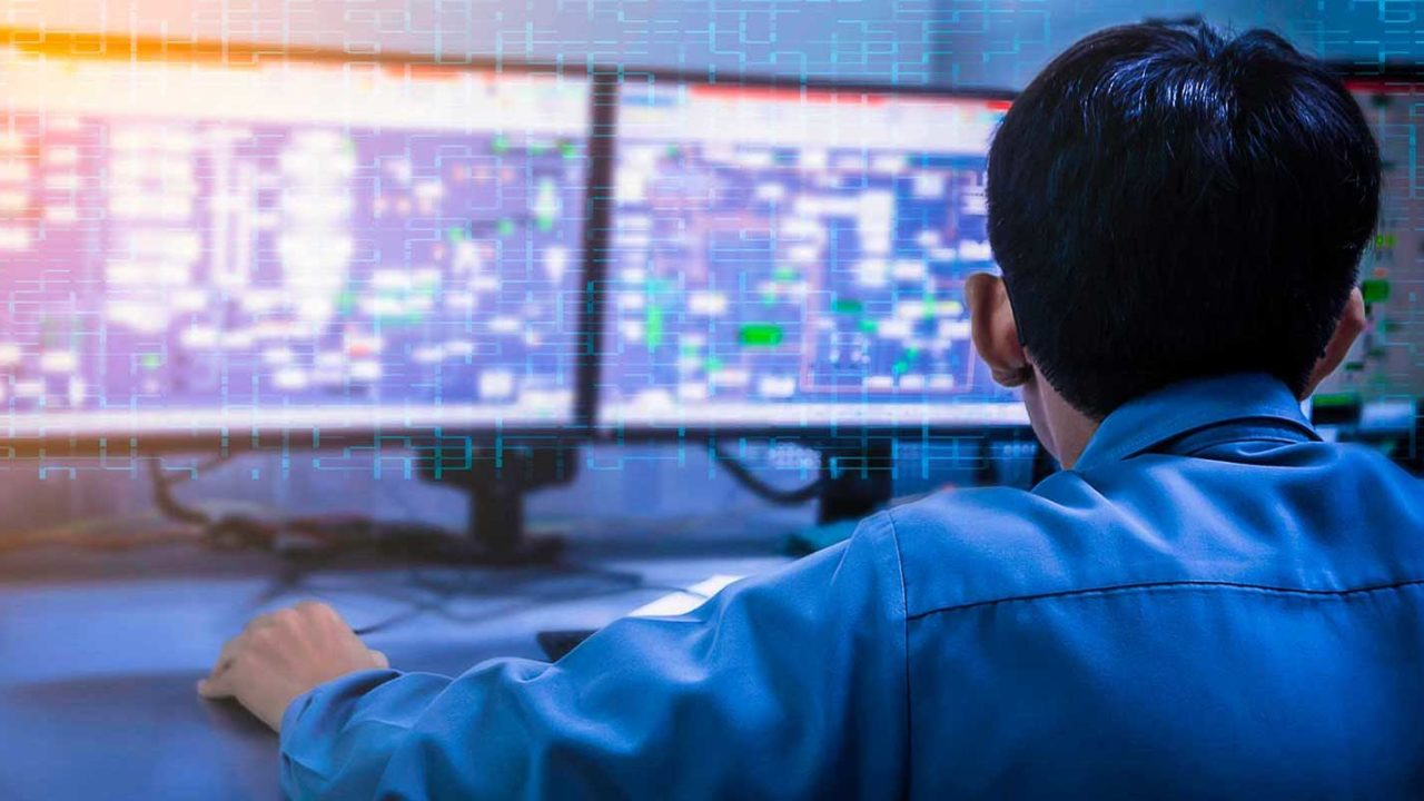 Businessman seeing the benefits of remote monitoring & management