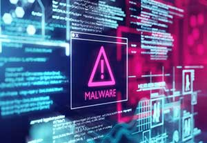 Computer with malware due to security vulnerabilities