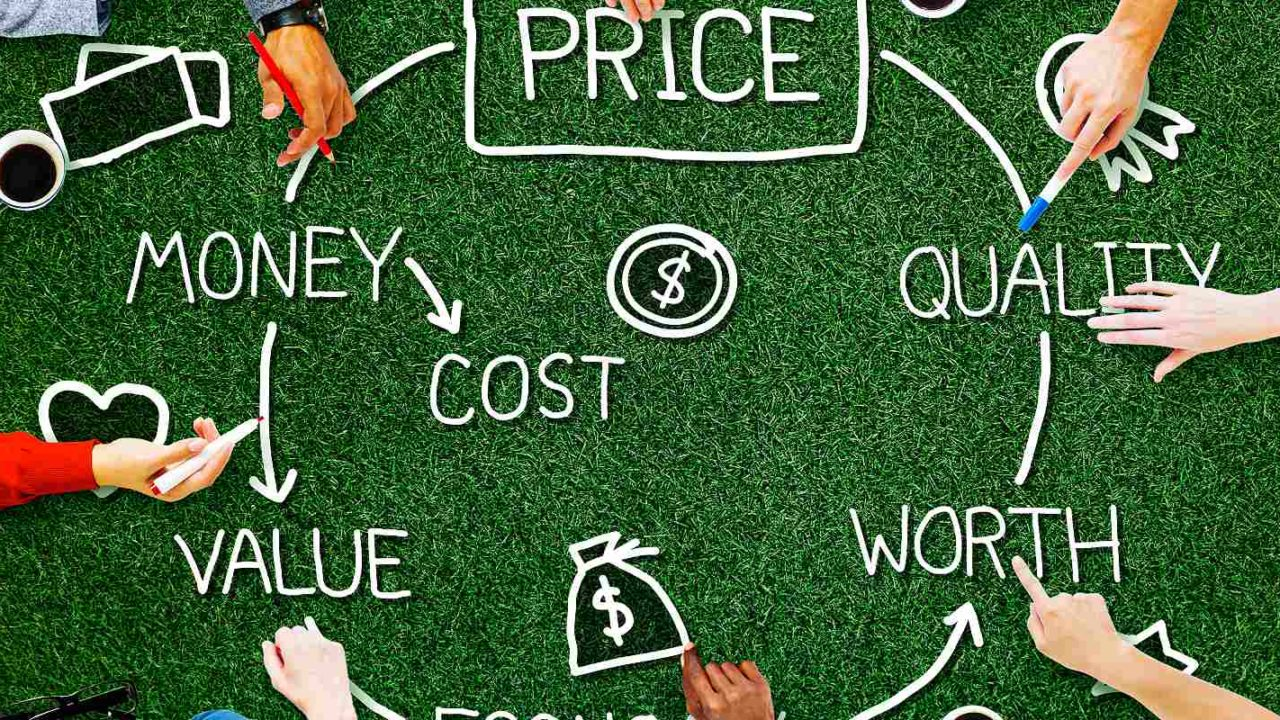 It costs reduction concept. When cutting IT costs, focus on costs that can be reduced or eliminated permanently
