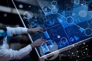 Futuristic IT Representation