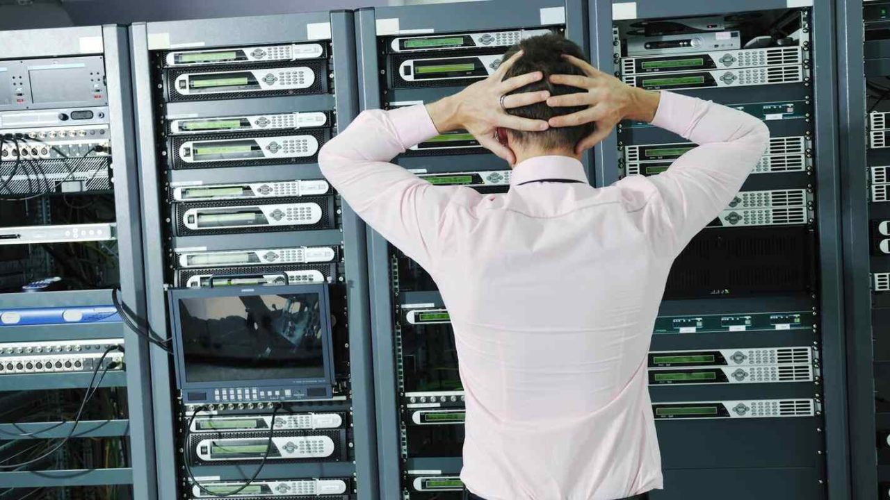 it expert in network server room have problems and looking for disaster recovery solution