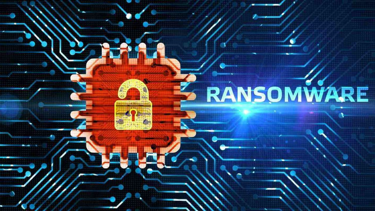 cyber security ransomware protection business technology privacy concept