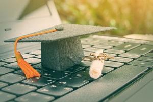online graduate certificate program concept